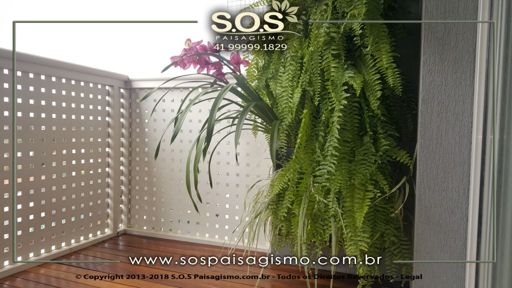 Jardim Vertical em Curitiba
