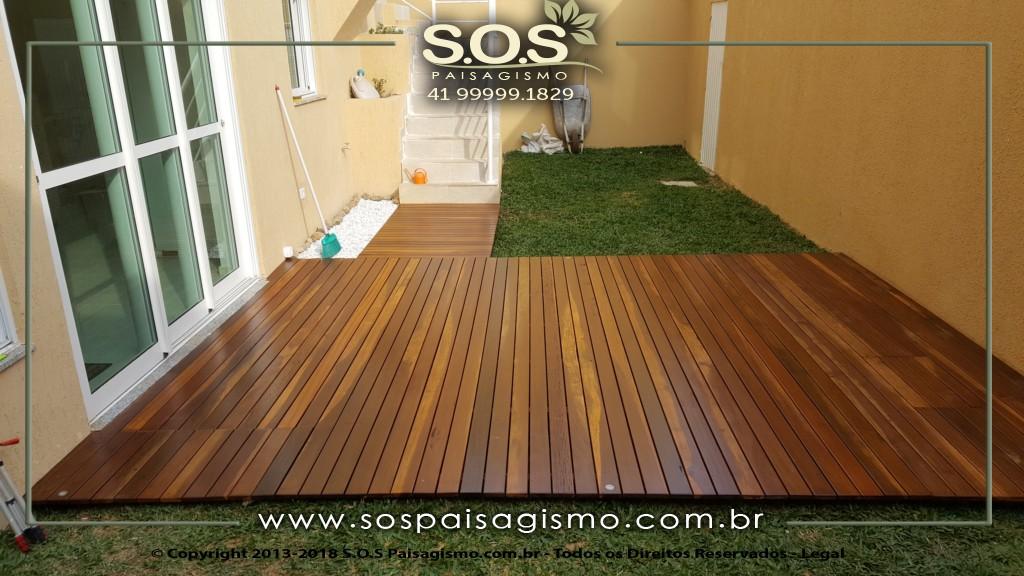 Deck em Itauba em Curitiba