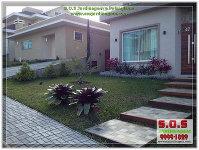 Projeto de paisagismo e manutençao no condominio Phainaville s.o.s Jardinagem
