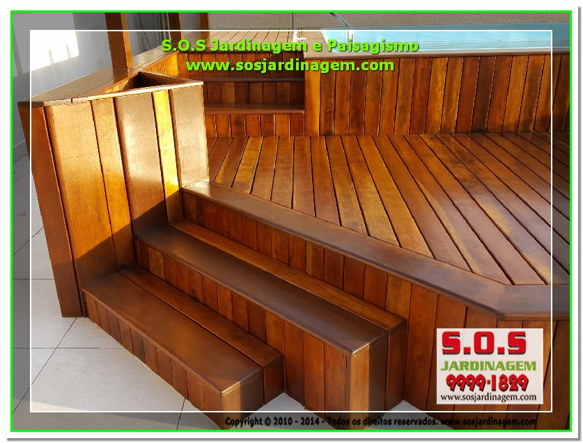 S.O.S Jardinagem e Paisagismo Deck Arquivil  00202