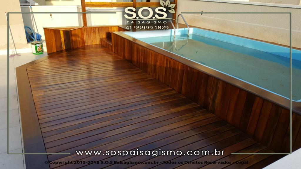 Deck de Piscina EM ITAUBA