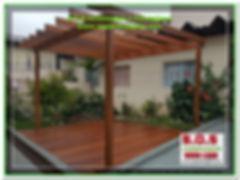 Deck e Pergolado Projeto S.O.S Jardinagem e Paisagismo
