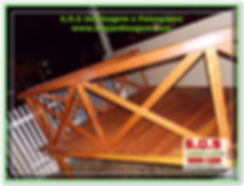 S.O.S Jardinagem e Paisagismo,Deck aéreo para  jardim e sacadas, Vasos em madeira, cachepôs em madeira, Deck, Treliçá, Pergolado em Curitiba