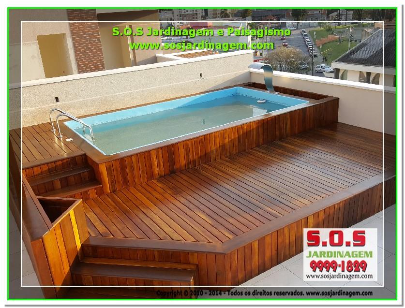 S.O.S Jardinagem e Paisagismo Deck Arquivil  00218