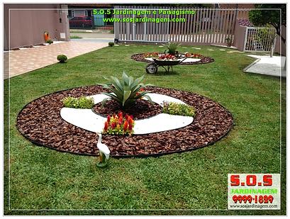 Projeto de paisagismo e jardinagem  feita pela S.o.s Jardinagem e paisagismo