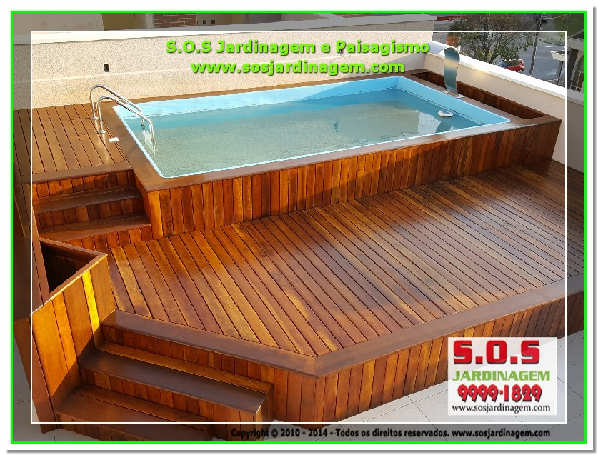 S.O.S Jardinagem e Paisagismo Deck Arquivil  00214