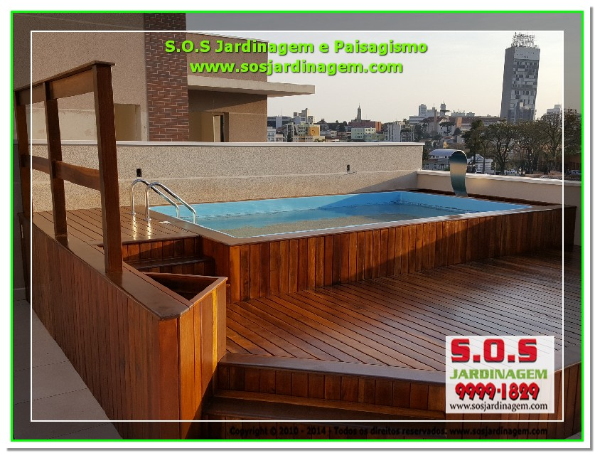 S.O.S Jardinagem e Paisagismo Deck Arquivil  00206