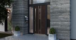 Blaurock uPVC Door modern rust
