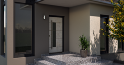 Blaurock uPVC Door modern concrete