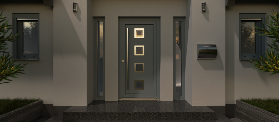 These front doors protect against burglary