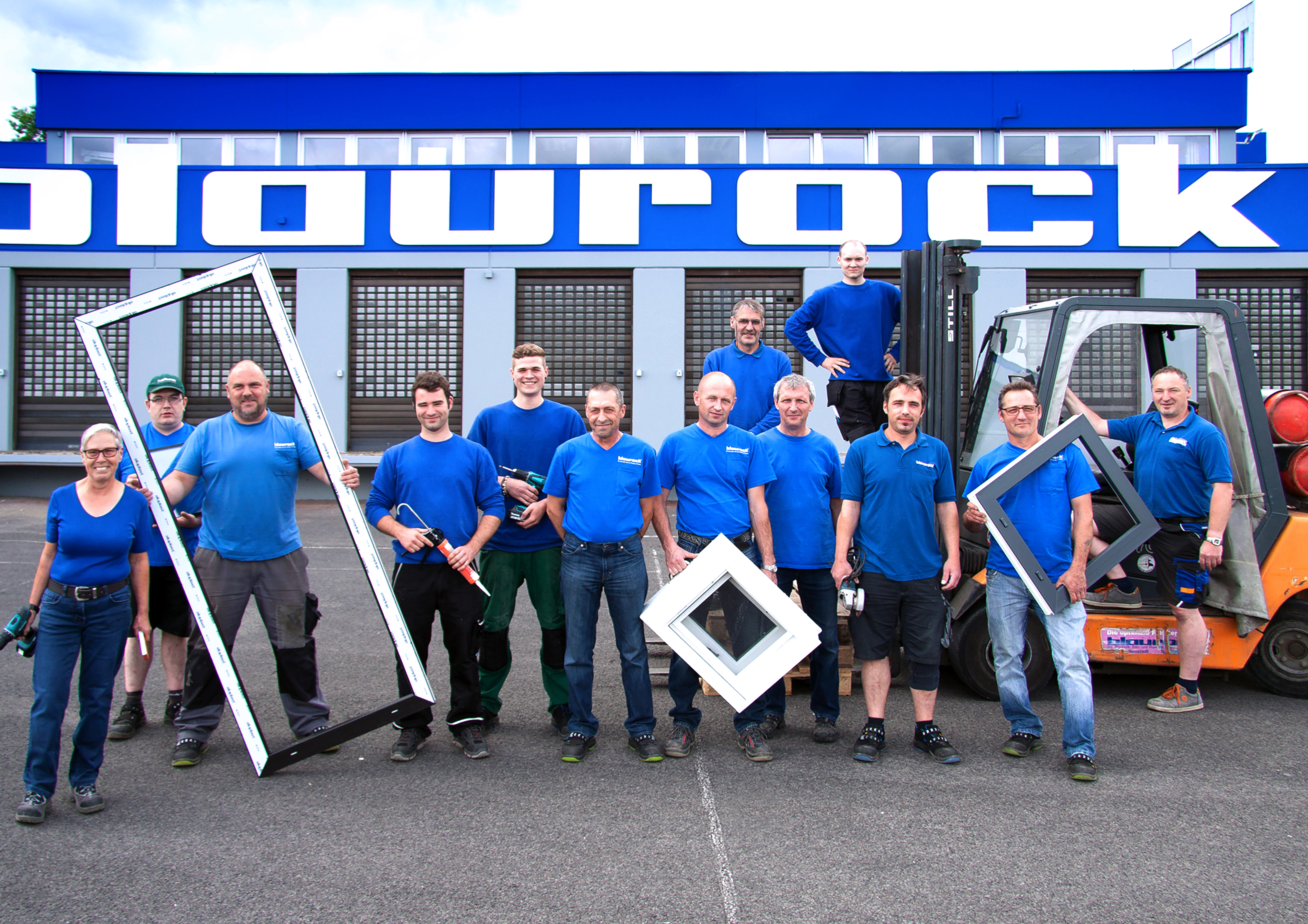 Blaurock Team Production Window Door
