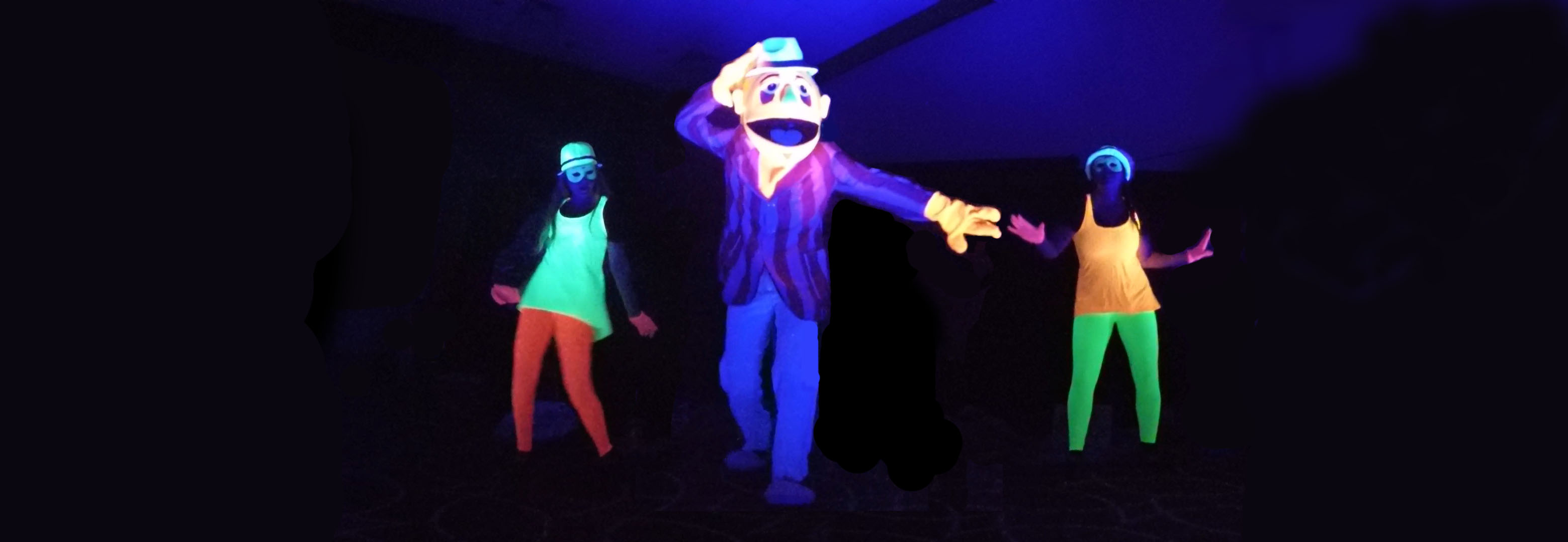 Blacklight Puppets