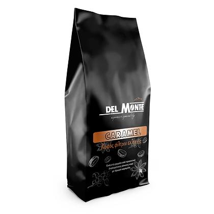 Del MONTE  καφες φιλτρου με άρωμα Καραμέλα 1kg