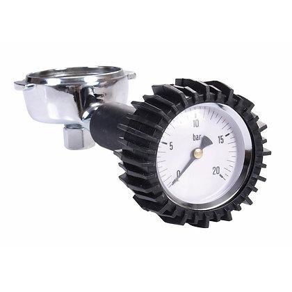 Κλείστρο 58mm με ενσωματωμένο  μανόμετρο μέτρησης πίεσης αντλίας νερού