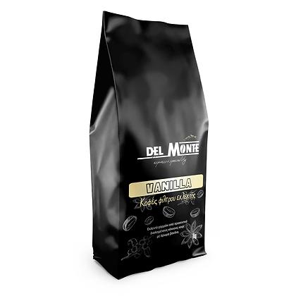 Del MONTE  καφες φιλτρου με άρωμα Βανίλια 1kg