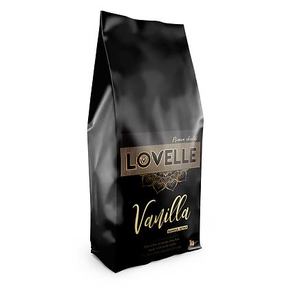 Σοκολάτα LOVELLE λευκή με γεύση Βανίλια 1kg