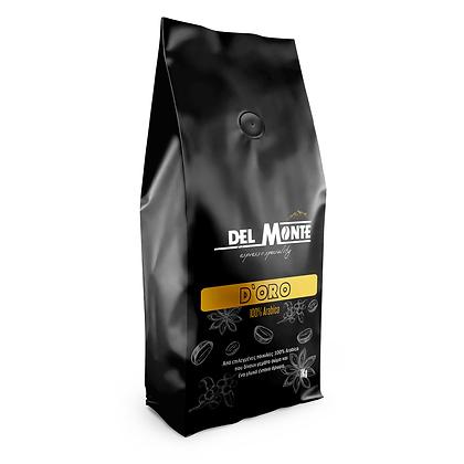 Del MONTE Espresso D'ORO Blend 100% Arabica 1kg