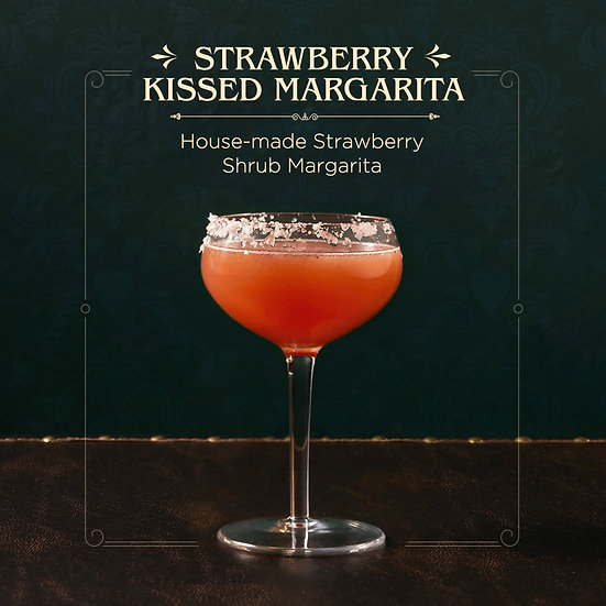 Strawberry Kissed Margarita