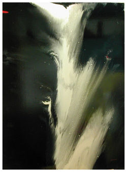 CASCADE   146 x 114   cm