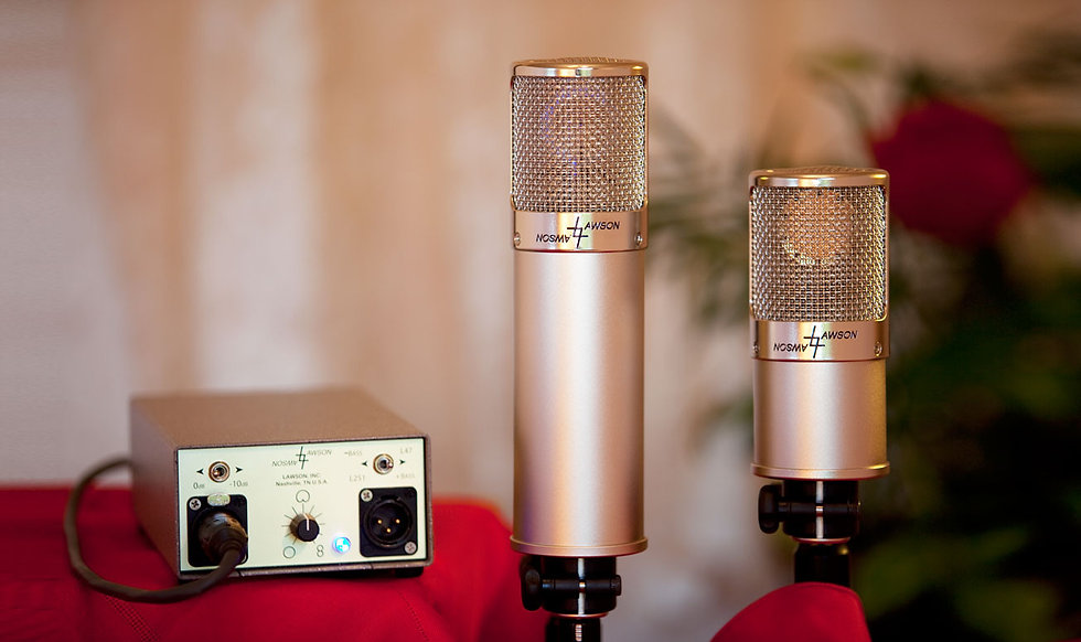 Lawson Tube/FET Microphone Combo