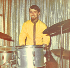 Gene on Drums