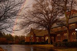 All Saints with Rainbow
