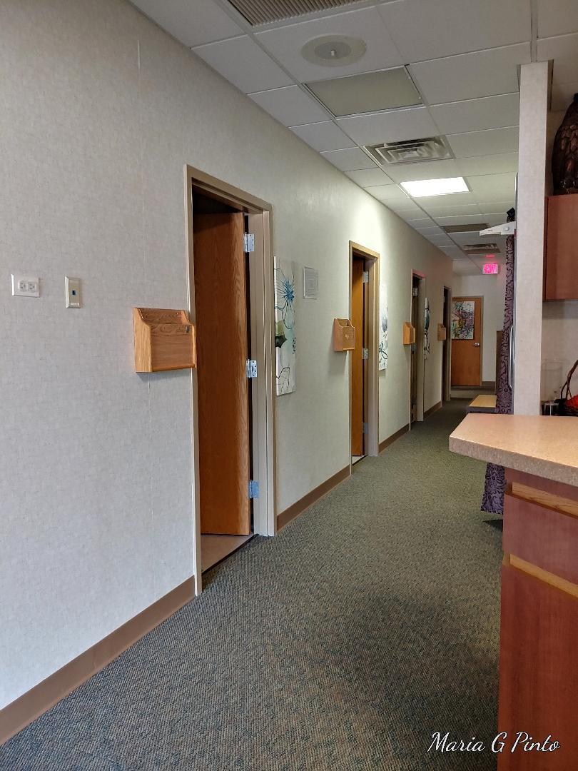 West hallway