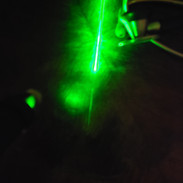Green laser, just looks cool. Great for acupuncture treatment.