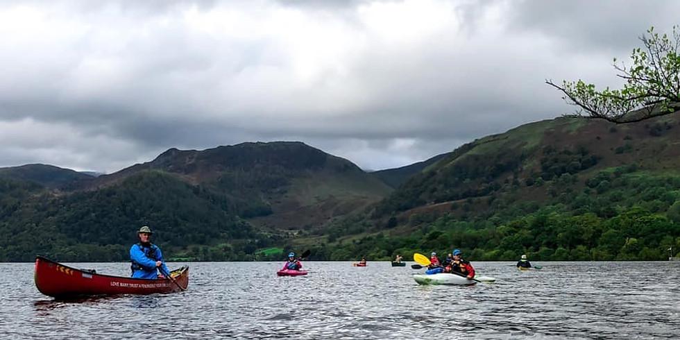 Covid safe paddle Ullswater