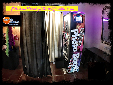 Miami Photo Booth Enclose booth