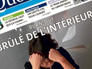 Dossier spécial Burn-out dans Le Quotidien