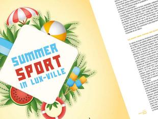 Sportez-vous bien en ville cet été!