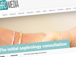 The initial sophrology consultation on Sophromedia