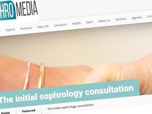 The initial sophrology consultation on Sophromedia