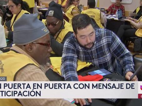 Univision: Así incentivan líderes comunitarios y diversas organizaciones en Chicago la participación
