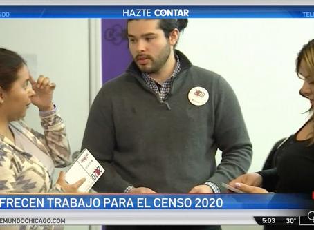 Telemundo Chicago: Aumentan paga para trabajadores del Censo 2020