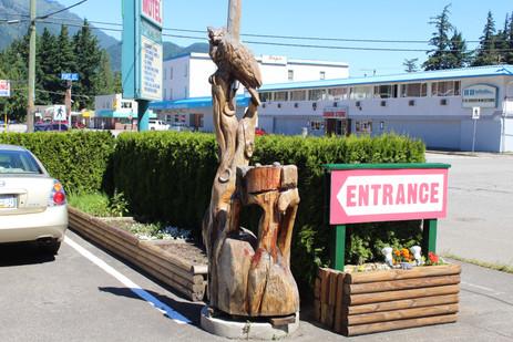 Entrance one
