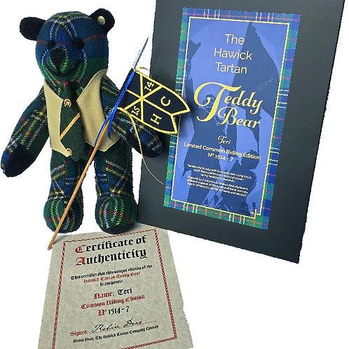 """""""Teri"""" the Teddy Bear Common Riding Edition"""