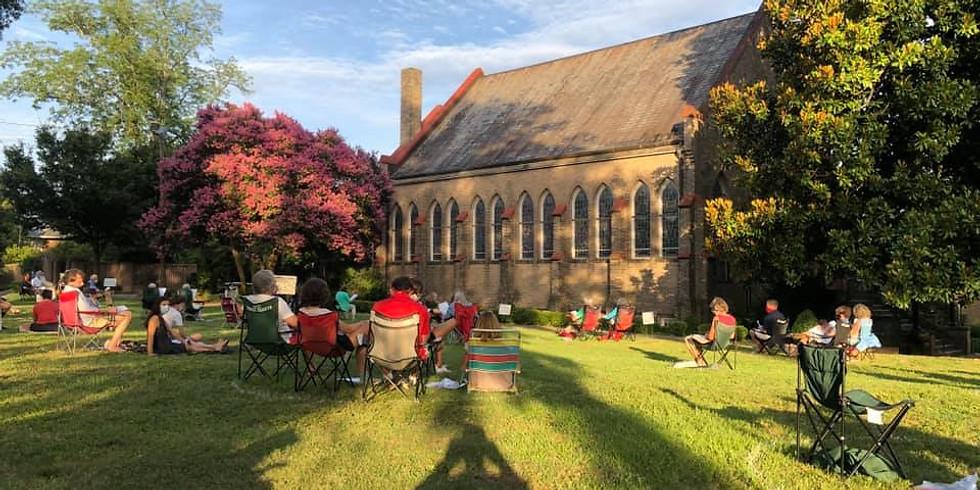 Outdoor Youth Sunday Worship