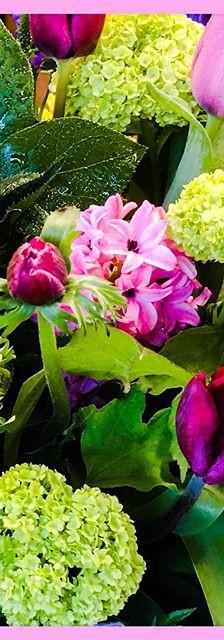 Vibrant spring flower design