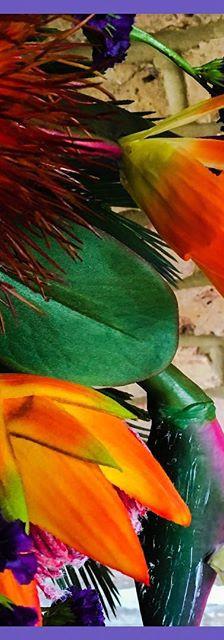 Exotic silk handtied