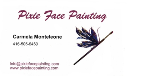 Pixie Face Painting SPONSOR