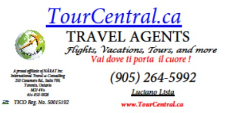 TourCentralCA Business Card