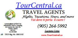 TourCentralCA Business Card