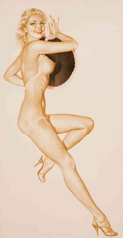 Alberto Vargas - Pin-Up with a Hat