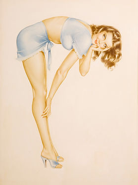 Alberto Vargas Playing Card