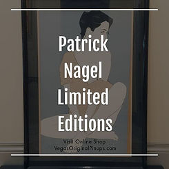 Patrick Nagel Limited Editions available at Online Shop