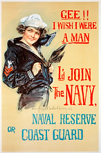 Historical WW I US Navy pinup