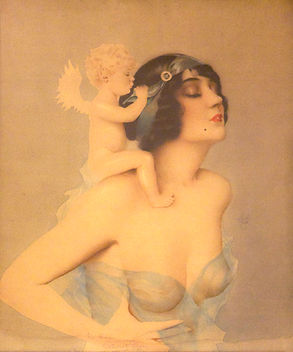 Alberto Vargas Ziegfeld Girls pin up art 1920s