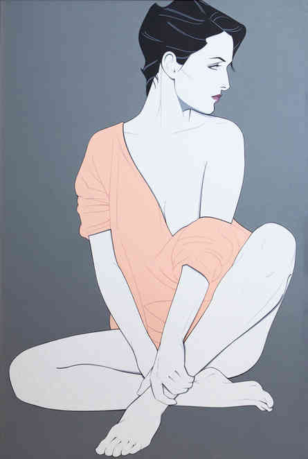 Patrick Nagel - Untitled